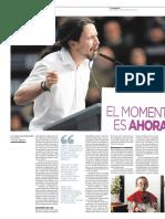 Reportaje Podemos Pablo Iglesias