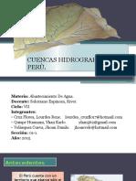 Cuencas Hidrograficas Del Perú