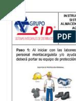 Ayuda Visual Para Imprimir en Grande Instruccivo POP Recibo
