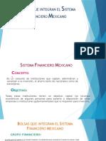 Bolsas Que Integran El Sistema Financiero Mexicano