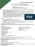User Manual AA1018 RO