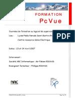 Formation Pcvue 2007