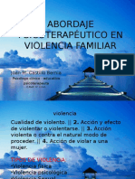 Abordaje en Violencia Familiar
