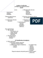 Analgesics Classification