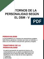 Trastornos de La Personalidad Según El Dsm V