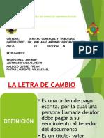 Derecho Cartular- Parte Especial.