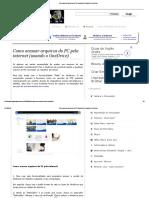 Como Acessar Arquivos Do PC Pela Internet (Usando o OneDrive)