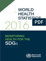 Estadisticas de Salud Mundial