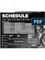 World Cup Schedule