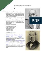 Biografías de Figuras Literarias Guatemaltecos