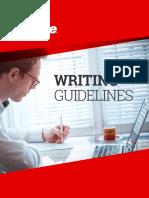 Sabre Writing Guide 7.14.2016