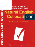 Natural English Collocations 1