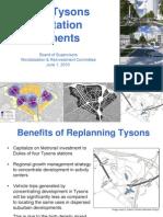 Fairfax County Tysons Transportation Funding Presentation 6-1-10