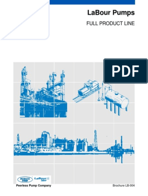 LaBour Full Product Line LB-004_Brochure | Pump | Steel