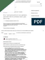 Erro_ _você Precisa de Um Novo Aplicativo Para Abrir Este - Microsoft Community