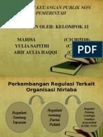 Regulasi Keuangan Publik Non Pemerintah