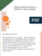 Sistema político de la república  de la india.pptx