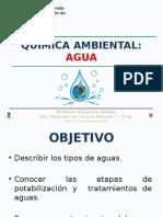 El Agua, Sus Caracteristicas, Tratamientos y Contaminación I