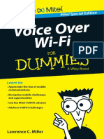 Voice Over Wi-Fi for Dummies Mitel Special Edition