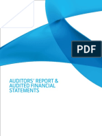 Auditors Report and Audited Financial Statements