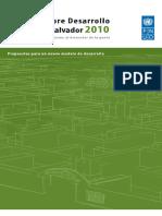 Informe Desarrollo Humano 2010 el salvador