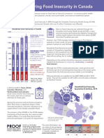 PROOF - Monitoring Food Insecurity in Canada - Factsheet