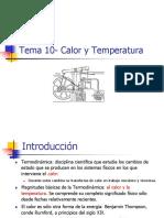 Tema 10- Calor y Temperatura