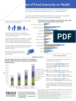 PROOF - The Impact of Food Insecurity on Health - Factsheet