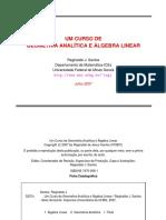 Curso de Geometria Analítica e Algebra Linear - Universidade de Minas Gerais.pdf