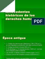 Antecedentes Históricos de Los Dd.hh