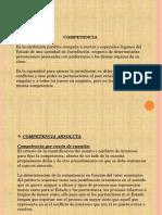 Diapositivas de Competencia
