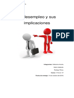 El Desempleo y Sus Implicaciones2.0