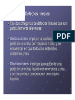 Defectos Lineal y Superficie2005