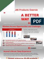 Huawei Intro Presentation BDM WLAN 6.28.2013