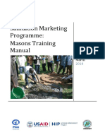 SanMark Masons Training Manual