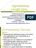 R Programming through Java