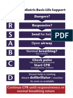 Algorithms - Paediatric Basic Life Support