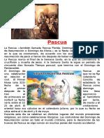 Pascua,diez mandamientos