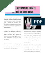 Artículo Periodístico Violencia Contra Las Mujeres