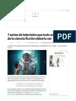 7 Series de Ciencia Ficción Que Todos Deberían Ver