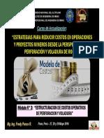 Módulo 3 - Estructuracion de Costos Operativos de Perforacion y Voladura
