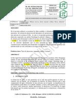 Formato de Informe de Resultados - Absorción