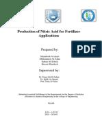 Nitric Acid Project_Final