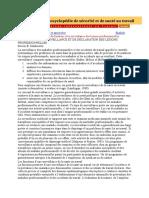 Chapitre 32 - La Déclaration Et La Surveillance Des Lésions Professionnelles