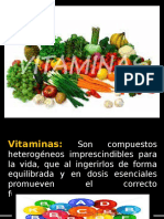 EXPO Tema 4 Vitaminas