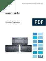 WEG Controlador Logico Programavel Tpw04 Manual de Programacao 10003853205 Manual Portugues Br