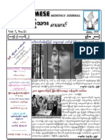 Burmese monthly journal-June-2010