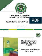 Reglamento Servicio de Policía ayudas
