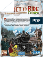 Ticket to Ride Europe - Manual