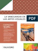 Artes Visuales de Vanguardia